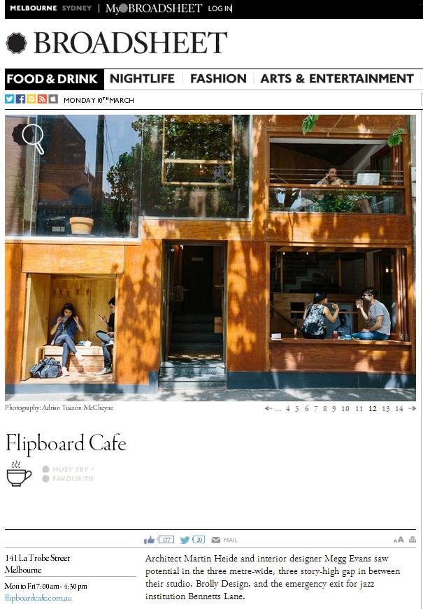 Flipboard in Broadsheet 2013