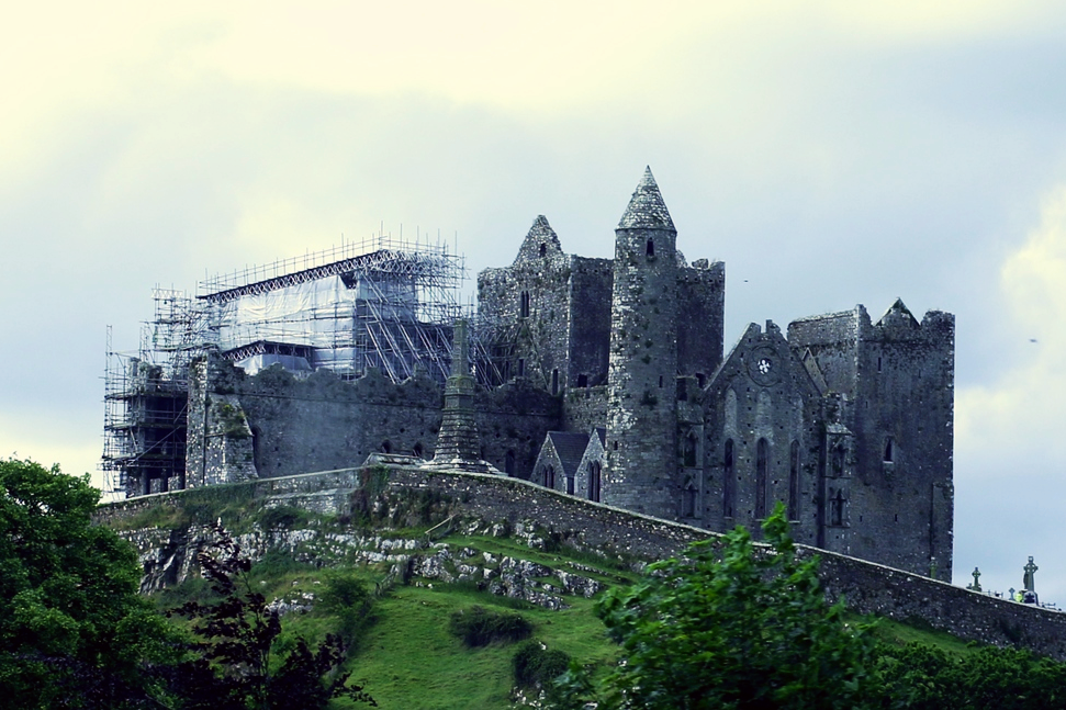 Rock of Cashel from a distance