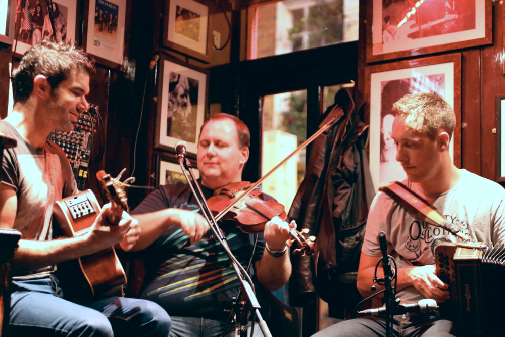 "Live Music at ""The Temple Bar"" in the The Temple Bar District"