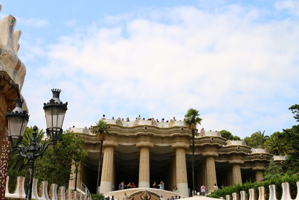 Park Guell - built by Gaudi