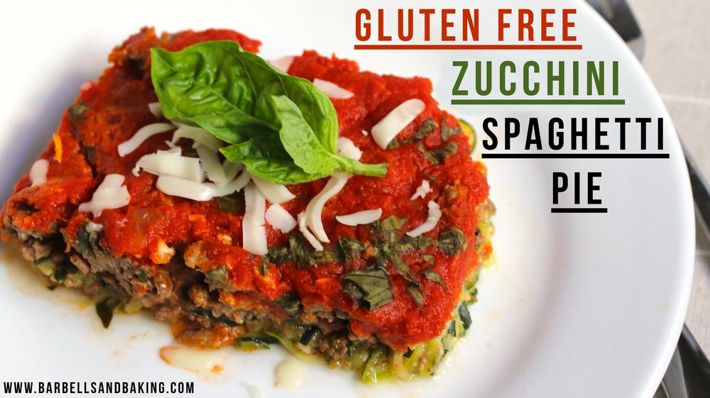Gluten Free Zucchini Spaghetti Pie