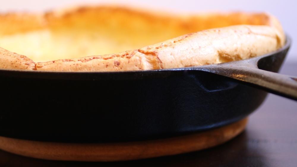 Paleo & Gluten Free German Pancakes | www.barbellsandbaking.com