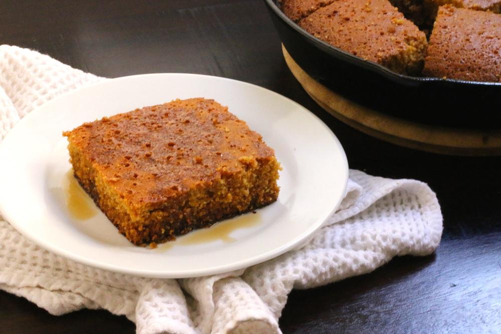 Paleo Orange Johnny Cake