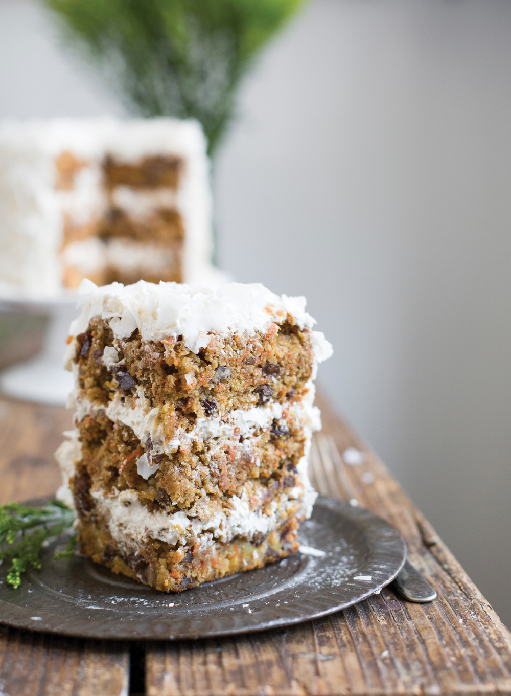 Paleo Maple Carrot Cake Recipe + My Paleo Patisserie Book Review! | www.barbellsandbaking.com