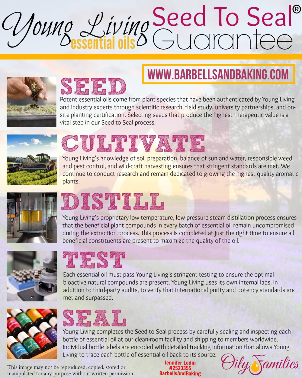 Why You Should Buy Young Living Essential Oils | Seed to Seal Promise | www.barbellsandbaking.com