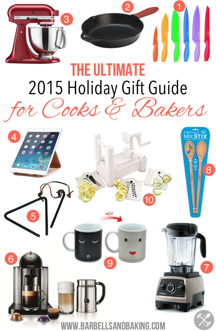 BarbellsAndBaking 2015 Ultimate Holiday Gift Guide for Cooks & Bakers! | www.barbellsandbaking.com