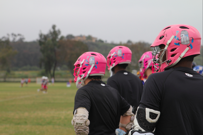"""Wearing a pink helmet said something about who we were, and who I wanted to be."""