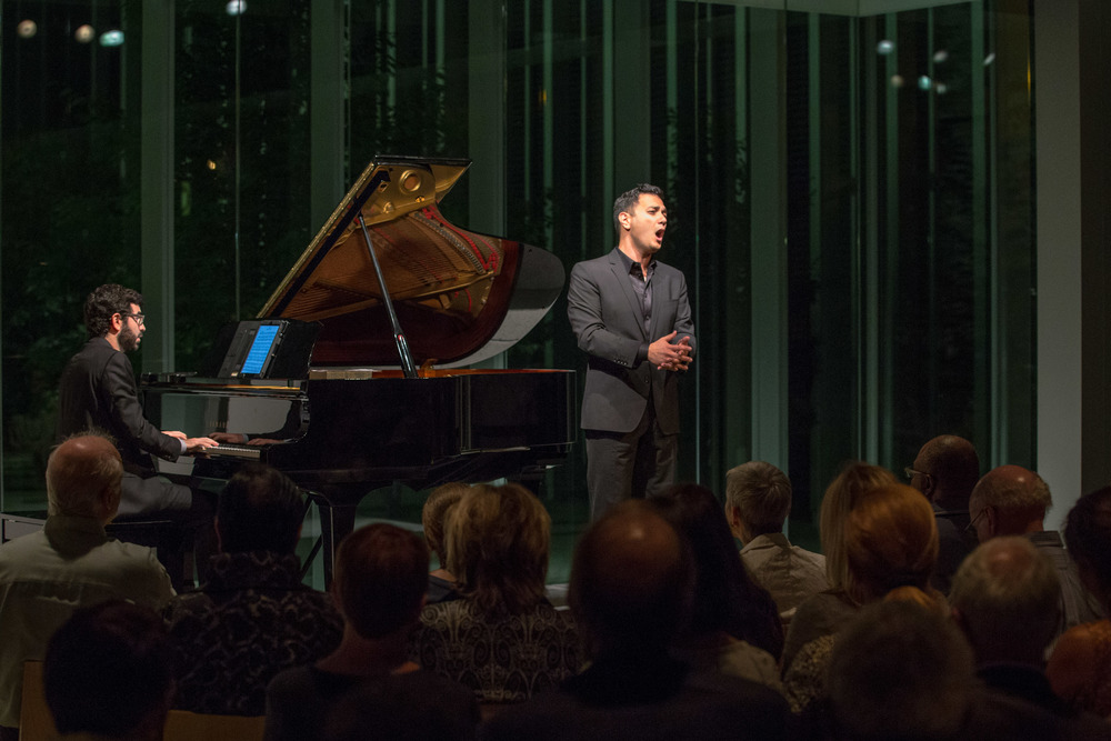Collaborative Works Festival with Michael Brown, piano (Photo credit: Elliot Mandell)