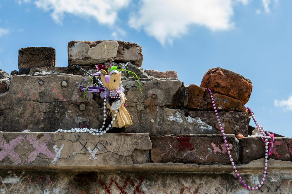 Offerings for a Voodoo Priest