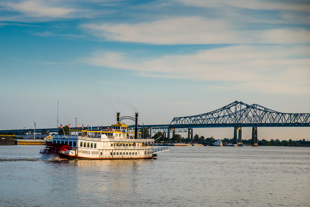 Steamboat on the Mississippi