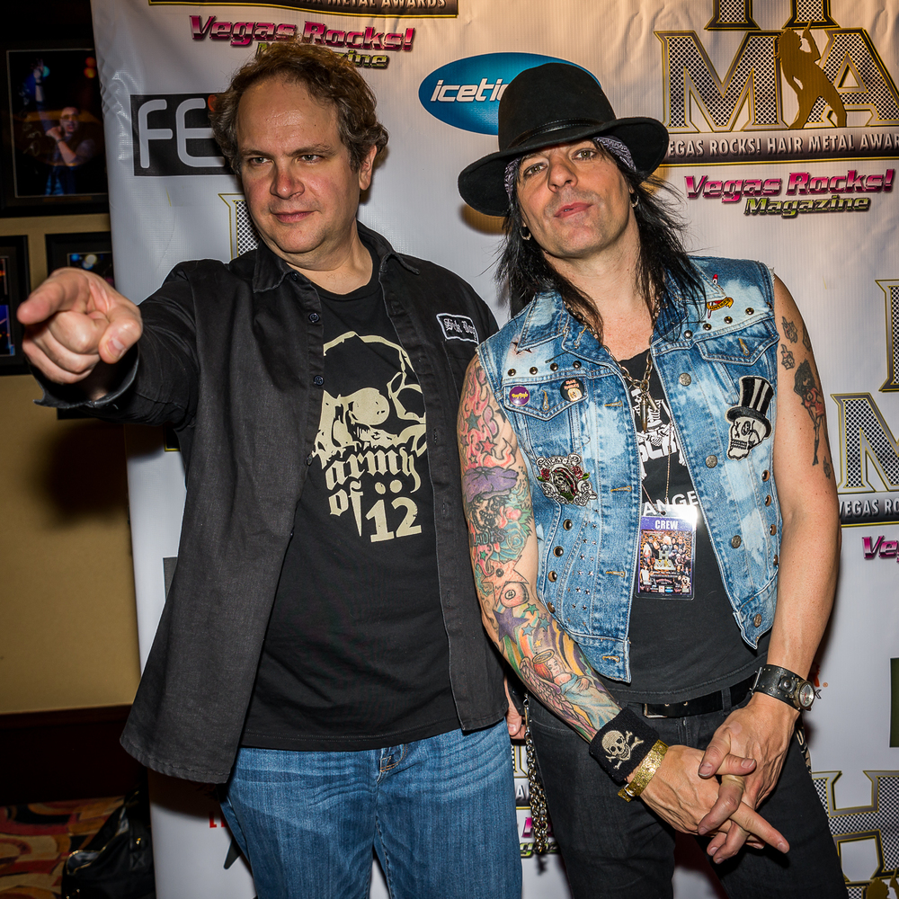 Eddie Trunk and Stacey Blades