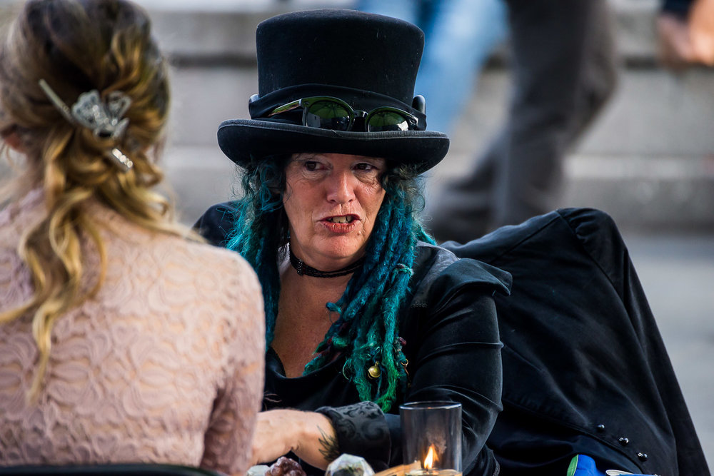 Tarot Card Reader in the Square