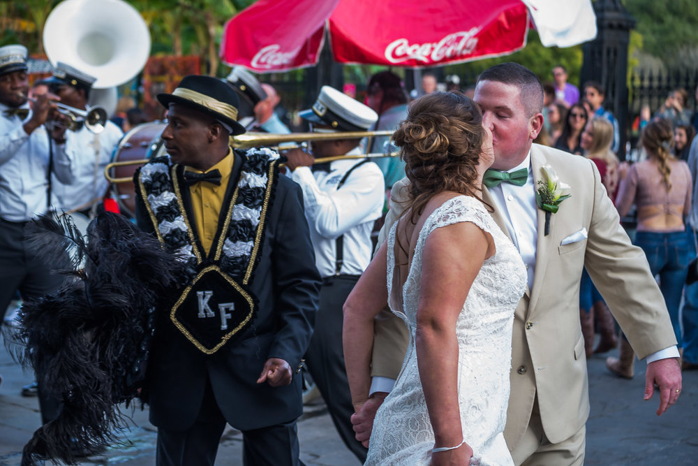 Wedding and a Second Line