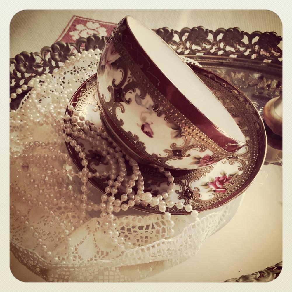 Pretty vintage teacup
