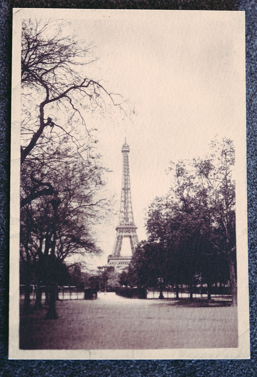 Postcard from Paris photographed by Expired Film Studios