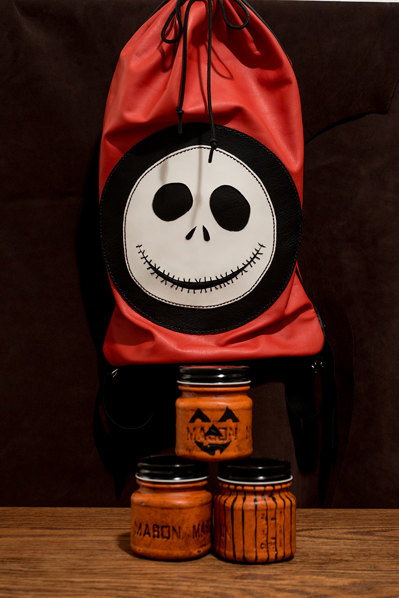 The Jack Skeleton Bag Pipe bag