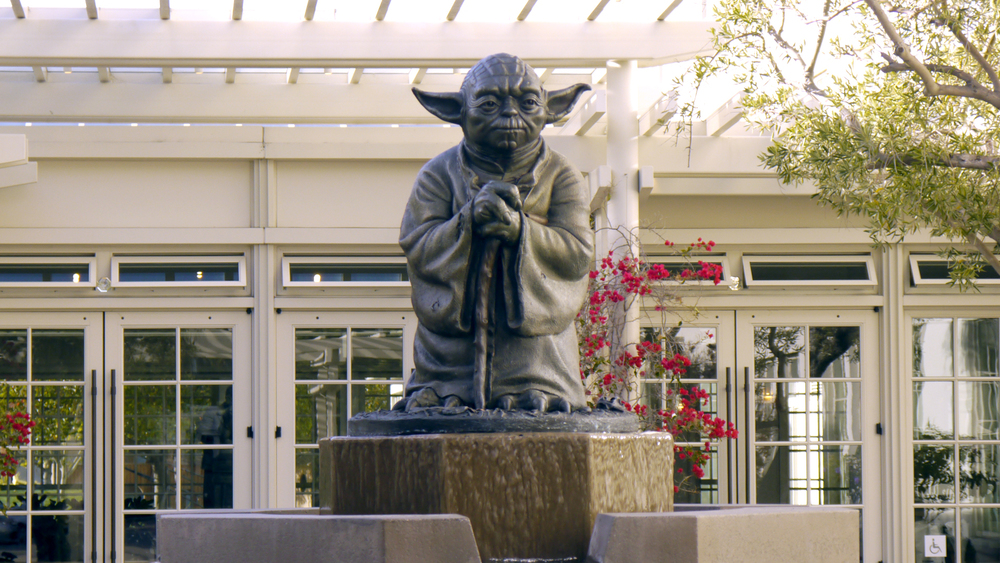 Yoda in front of ILM