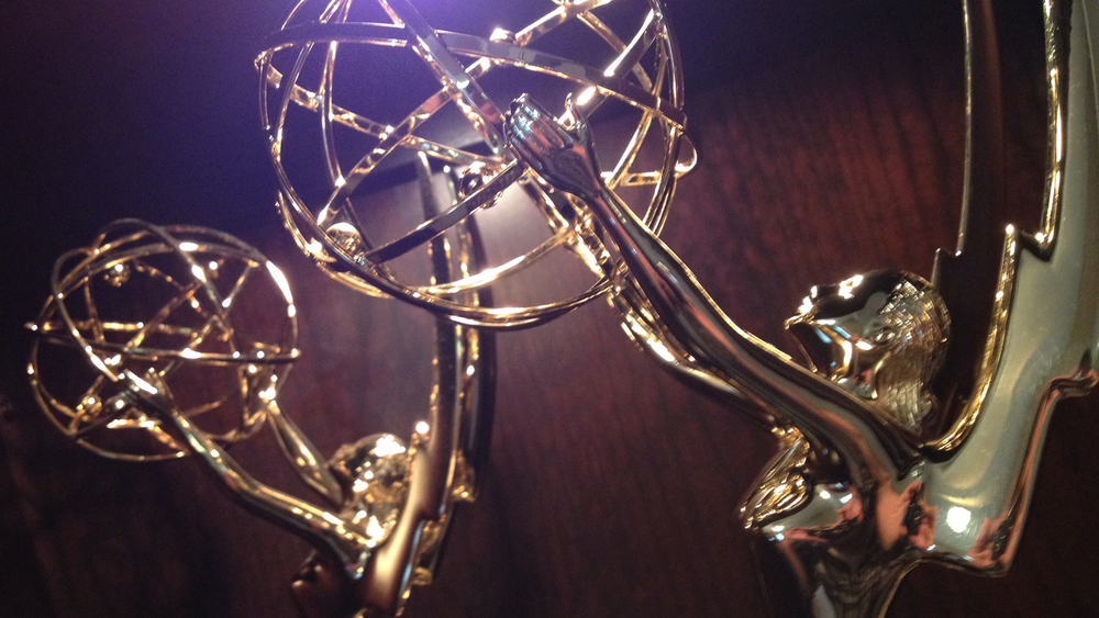 My Emmy Statues from 2011 and 2012