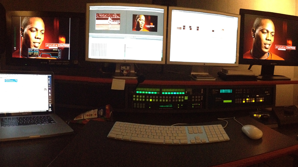 My Edit Suite at MLB Network