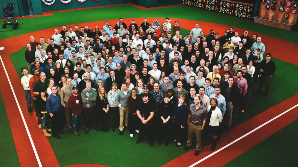 The MLB Network Launch Staff