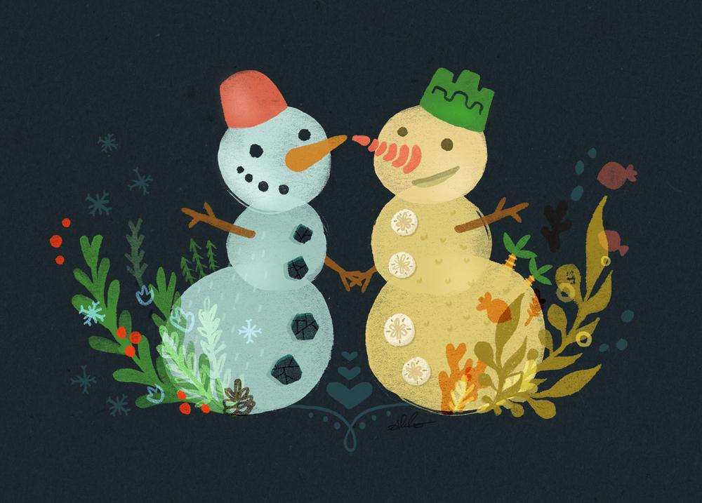Snowman and Sandman