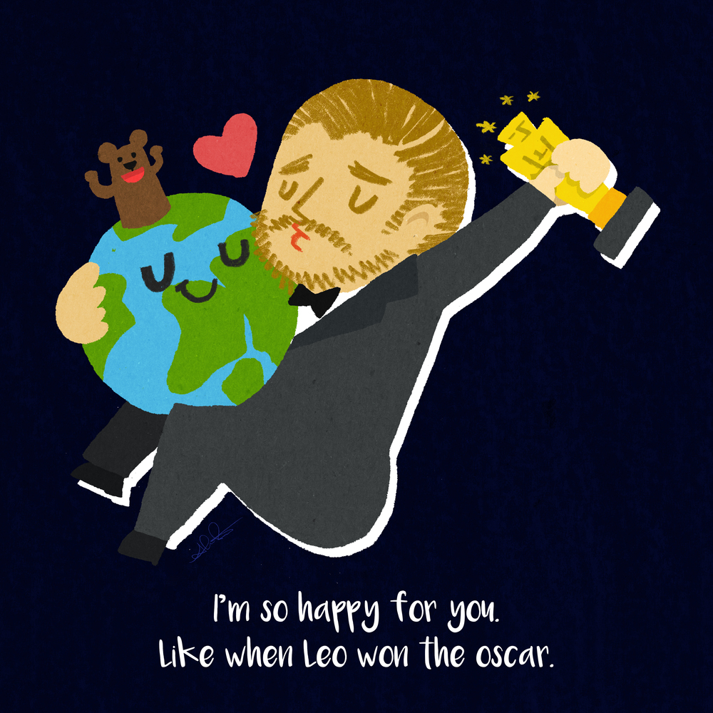 Leo and Earth