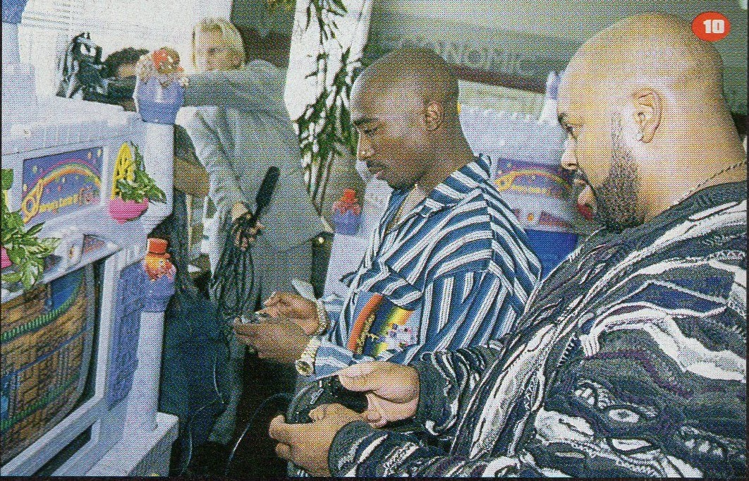 Pac  on that  Sonic .   Rare.