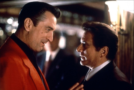 "Robert  De Niro  and  Joe Pesci .    Casino, 1995.  One of my favorite films for the  messages .   ""I feel like  De Niro  knowing these  Pesci's  in my circle's closer to  Satan ."" -   The Champion      Steady ."