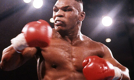"On Fans:    ""There are  nine million  people who see  me  in the ring and  hate  my guts.  Most  of them are  white . That's okay. Just spell  my name  right.""    On Boxing:     Tyson:  ""It's interesting that you put me in the league with those illustrious fighters [ Muhammad  Ali, Joe Louis,  Jack Johnson ], but I've proved since my  career  I've  surpassed  them as far my  popularity . I'm the  biggest fighter  in the history of the sport. If you don't believe it,  check the cash register .""    Iron  Mike.  Champion .   Steady."