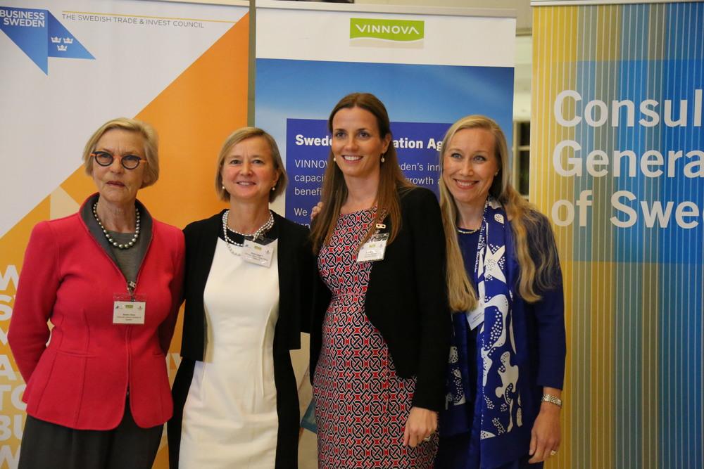 Barbro Oscher, Anne Lidgard, Ann-Sofie Safa andKristina Bunger. (Photo: Annika Lehes)