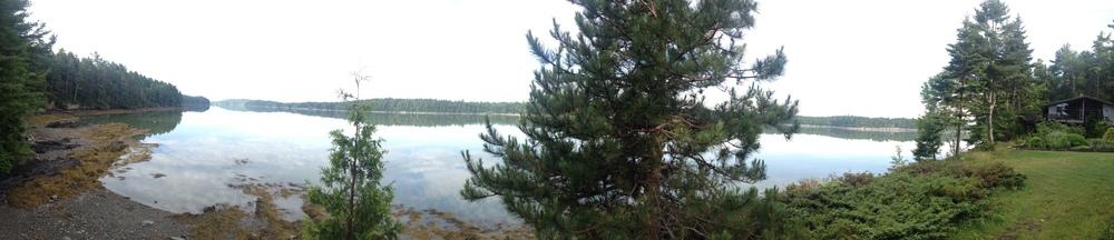Beautiful lake view in Brunswick, ME