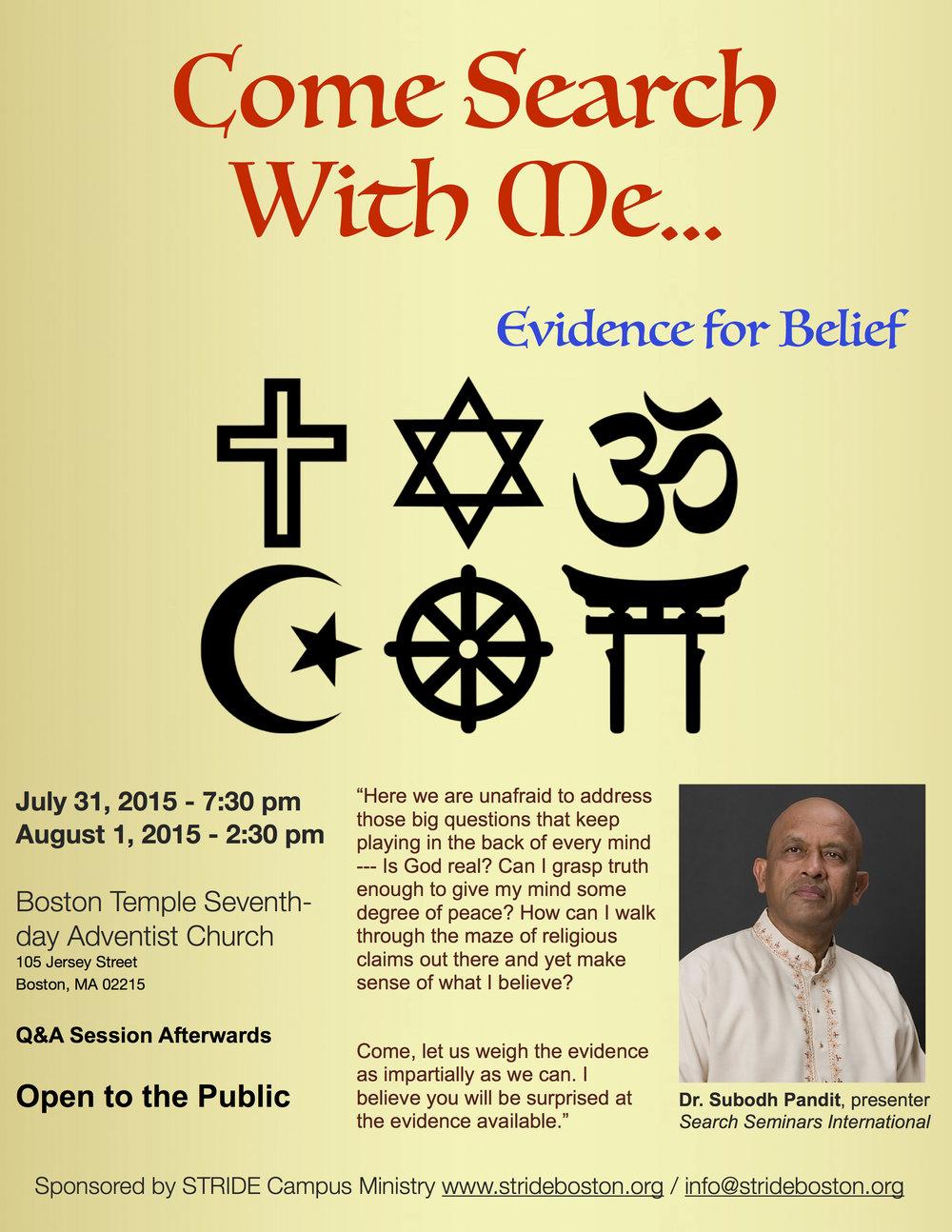Dr. Pandit Lecture Series 2015