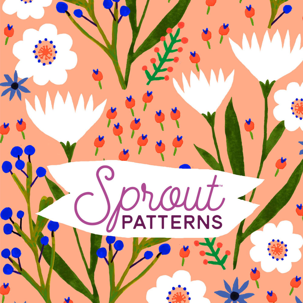 Shop cut and sew patterns at Sprout Patterns by Spoonflower