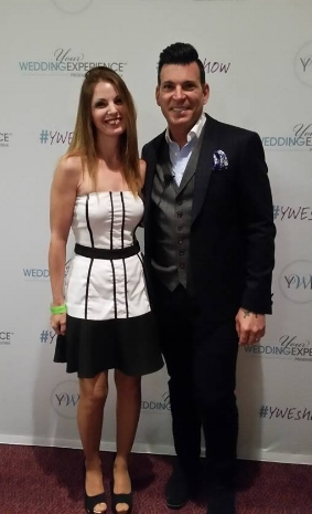 With David Tutera -TV host, celebrity wedding planner, and bridal fashion designer