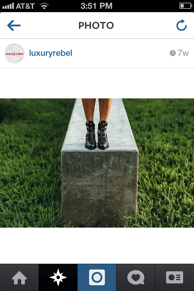 Brand Luxury Rebel regrams one of my looks.