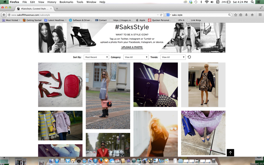 Featured On #saksstyle