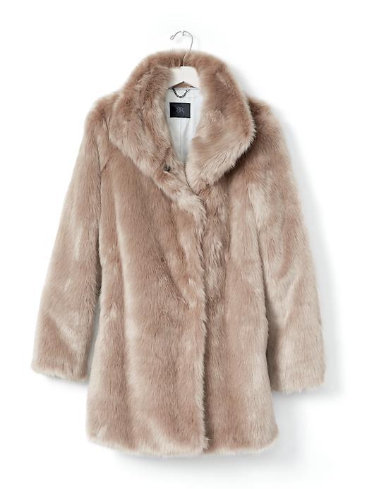 faux fur coat holiday