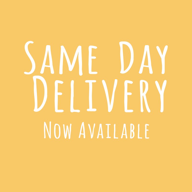 Cut off time for Same Day Delivery is at 10am for earliest deliveries/ self collection between 2-5pm. Yay!!! ((: