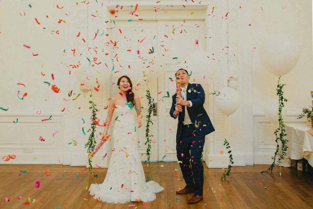 Venue Decorations - Whether whimsical or elegant, leave it to us to create the wedding that is uniquely yours. We are happy to accommodate any ideas, however crazy! Speak to us at hello@helloflowers.sg! - winks