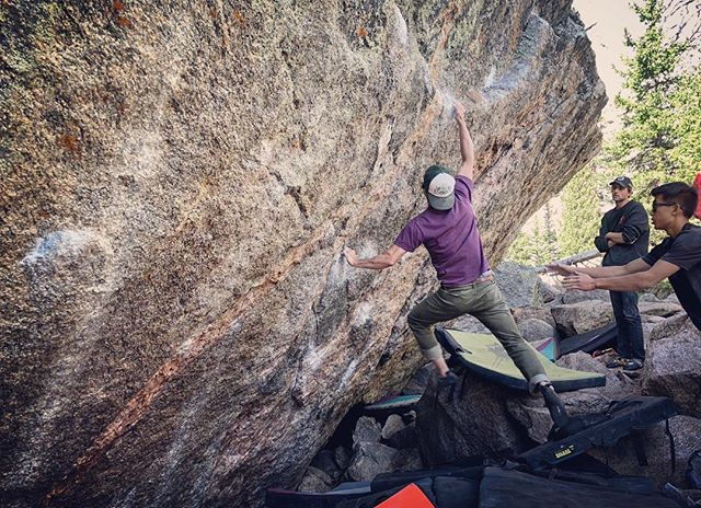 @sherwing123 crushing the Dali dyno! Great day with an awesome crew @audreygawrych @garrettgregor