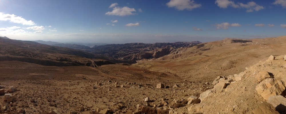 Our first view of Jordan from within its borders.