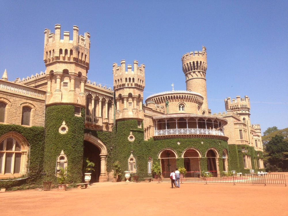 The Bangalore Palace.
