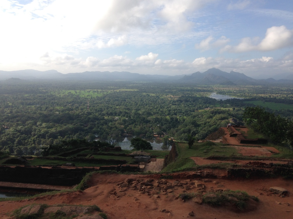 The view from Sigiriya Rock.