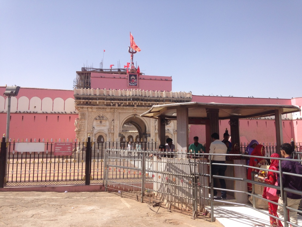 Entrance to the Karni Mata Temple