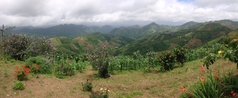 A beautiful view from just outside Kalaw.