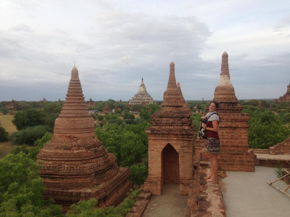 My wonderful Myanmar travel partner, Sarah.