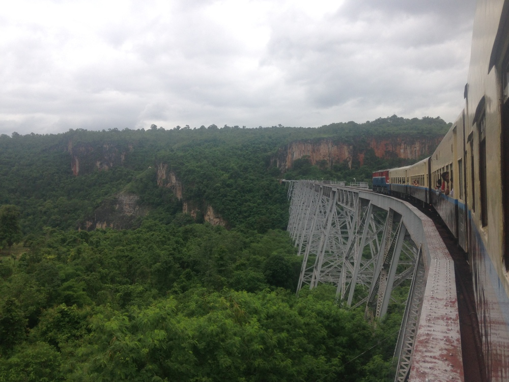 The Goktiek Viaduct on the way to Hispaw