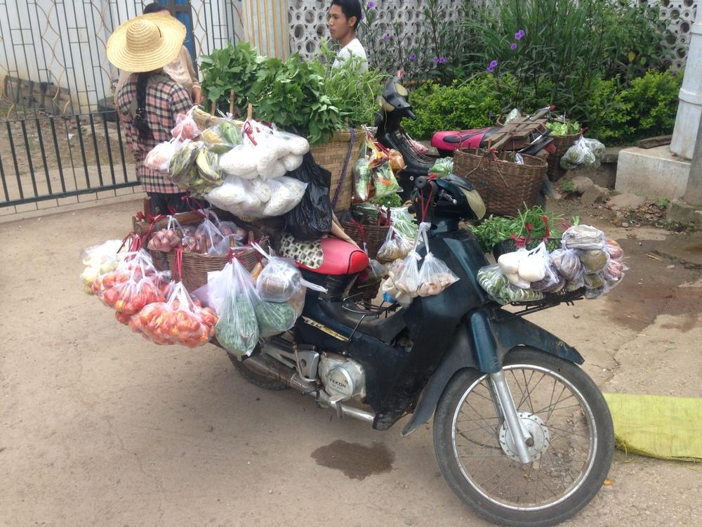 A market on wheels