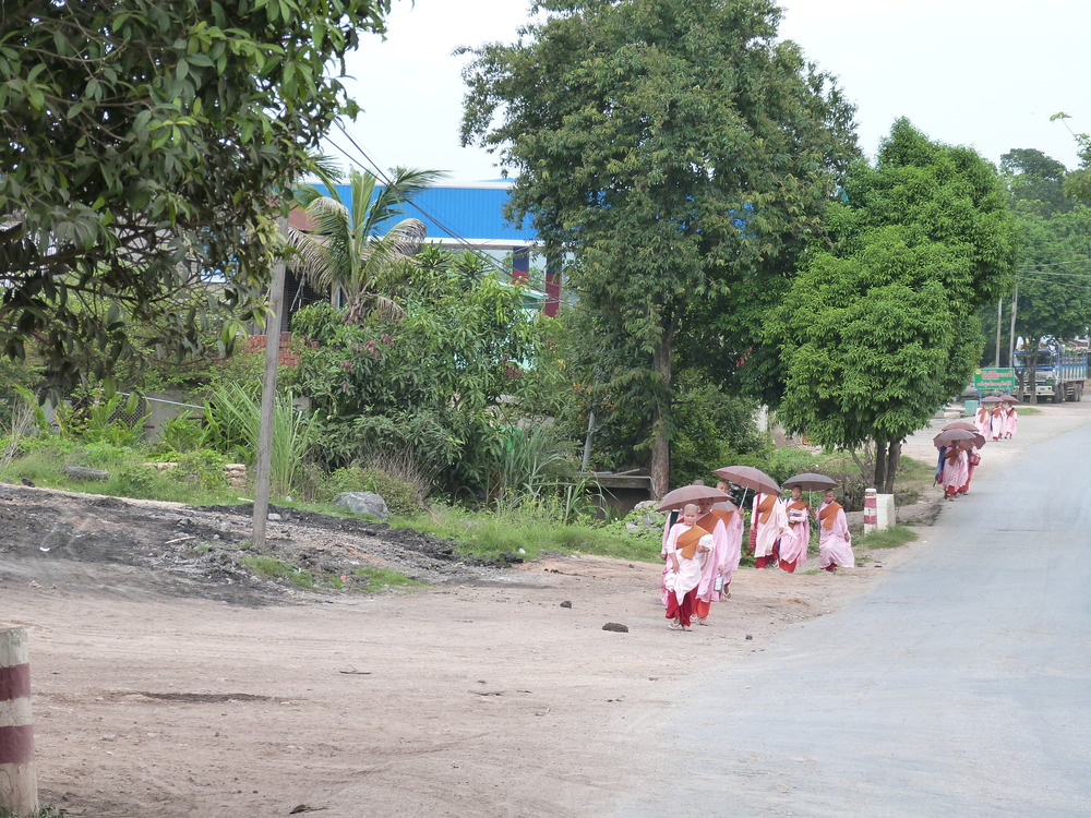 Young nuns on a stroll *Photo courtesy of Sarah Frenz