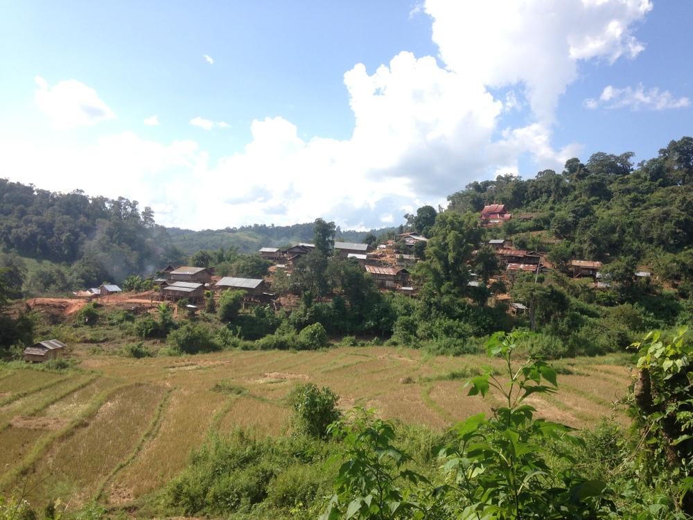 Akha Phunoy Village